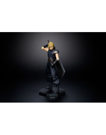 Final Fantasy series SQUARE ENIX FF7 CLOUD STRIFE STATUE Play Arts Kai - 1 - Crazy4Japan.com