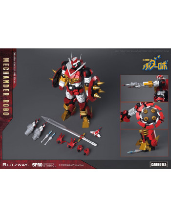 Robot Mechander Robo Action Figure Blitzway - 8 - Crazy4Japan.com