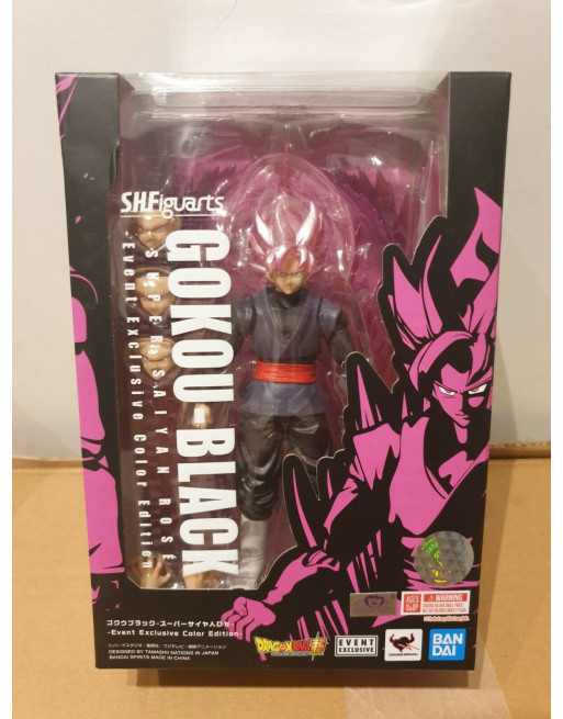 Dragon Ball SUPER SAYAN ROSE GOKU BLACK ROSE Bandai S. H. FIGUARTS ... - 1 - Crazy4Japan.com