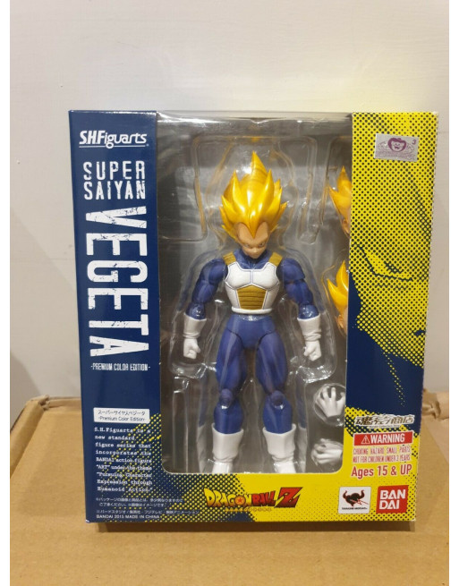 Dragon Ball SUPER SAYAN VEGETA PREMIUM COLOR Bandai S. H. FIGUARTS - 1 - Crazy4Japan.com