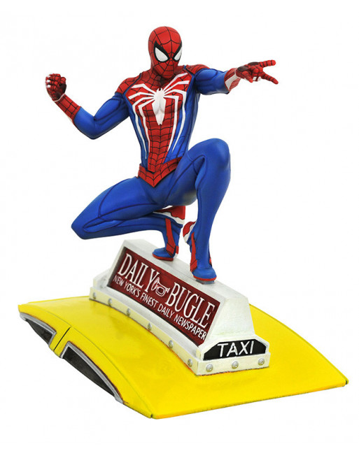 Avengers MARVEL GALLERY PS4 SPIDER-MAN ON TAXI Diamond Select - 1 - Crazy4Japan.com