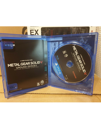 Metal Gear Solid KONAMI PS4 MGS GROUND ZEROES PREMIUM PACKAGE NTSC/JAP - 5 - Crazy4Japan.com