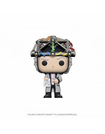 Back To The Future POP! Vinyl Figure Doc w/Helmet Funko Pop! Crazy4... - 1 - Crazy4Japan.com