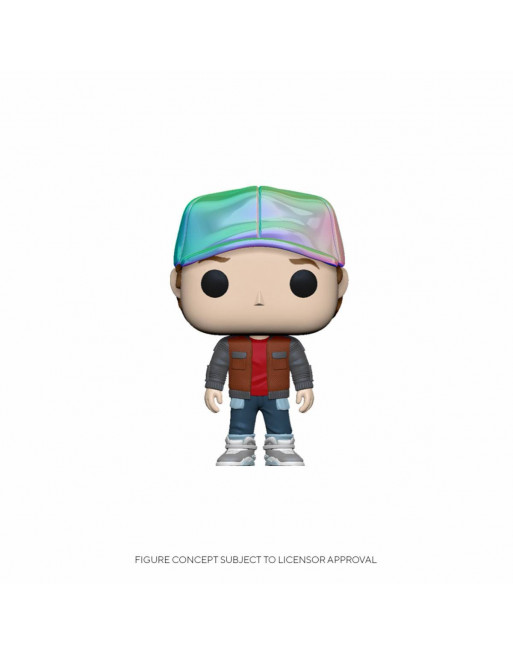Back To Future POP! Vinyl Figure Marty in Future Outfit Funko Pop! - 1 - Crazy4Japan.com