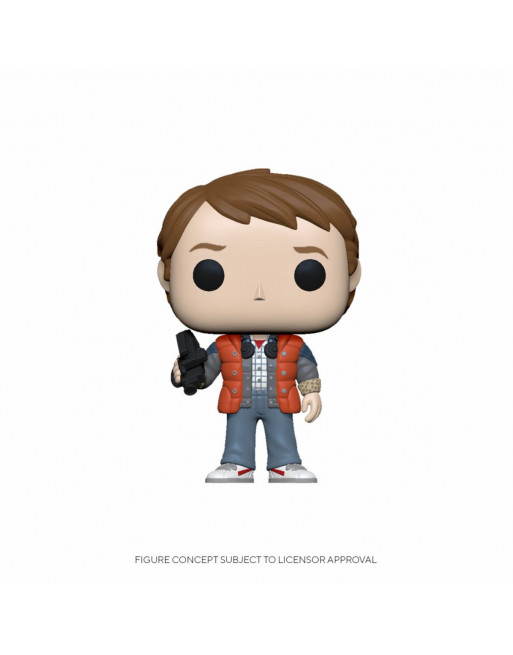 Back To Future POP! Vinyl Figure Marty in Puffy Vest Funko Pop! - 1 - Crazy4Japan.com