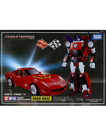 Transformers MASTERPIECE MP-26 ROAD RAGE Takara Tomy - 1 - Crazy4Japan.com