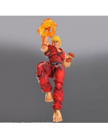 Street Fighter SQUARE ENIX SUPER STREET FIGHTER 4 KEN Play Arts Kai - 1 - Crazy4Japan.com