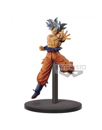 Dragon Ball SON GOKU ULTRA ISTINCT PVC STATUE CHOSENSHIRETSUDEN Ban... - 1 - Crazy4Japan.com
