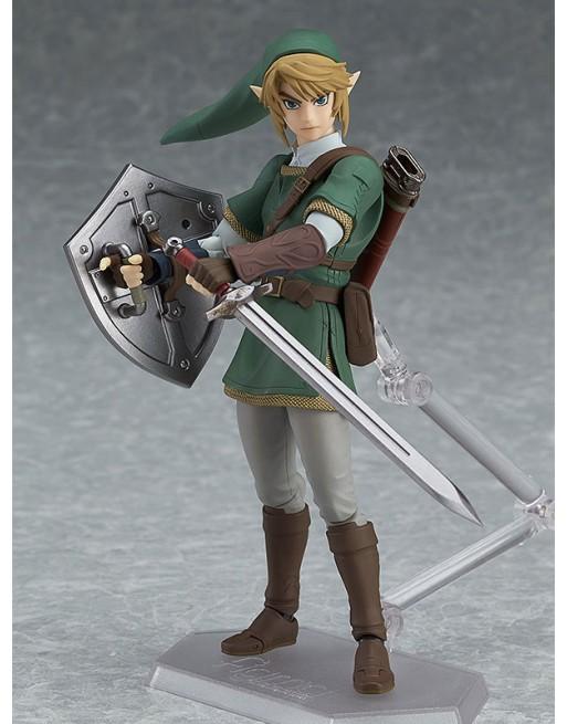 Figma 320 The Legend of Zelda Link Twilight Princess Deluxe Max Fac... - 1 - Crazy4Japan.com