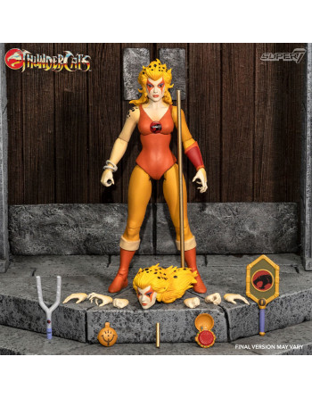 CHEETARA THE SUPER SPEEDY WARRIOR ULTIMATE ACTION FIGURE Super 7 Cr... - 1 - Crazy4Japan.com