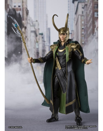 Avengers LOKI ACTION FIGURE Bandai S. H. FIGUARTS  Crazy4japan.com - 1 - Crazy4Japan.com